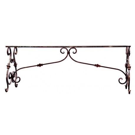 Tavolo di ferro battuto