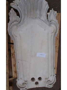 Marble fountain top