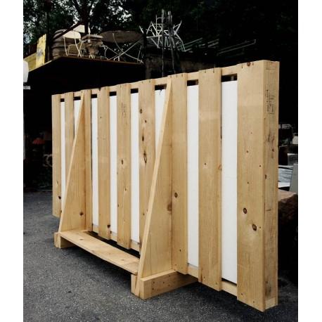 Vertical packaging for slabs (LEGACCIO) 250x80xh150 cm