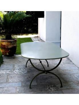 Tavolo ovale 200 X 110 cm Porcinai a centine