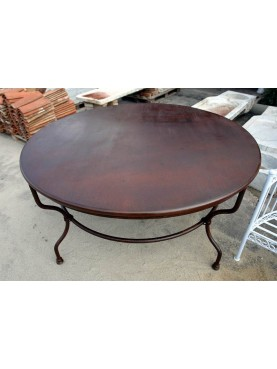 Forge-Iron Ø147cms round table