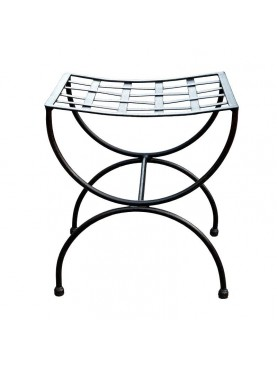 Forged iron stool