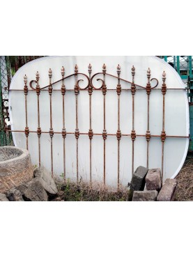 Wrought forged iron garden gate