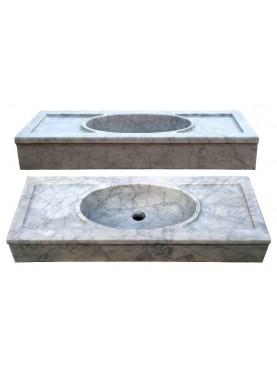 Lavandino in marmo