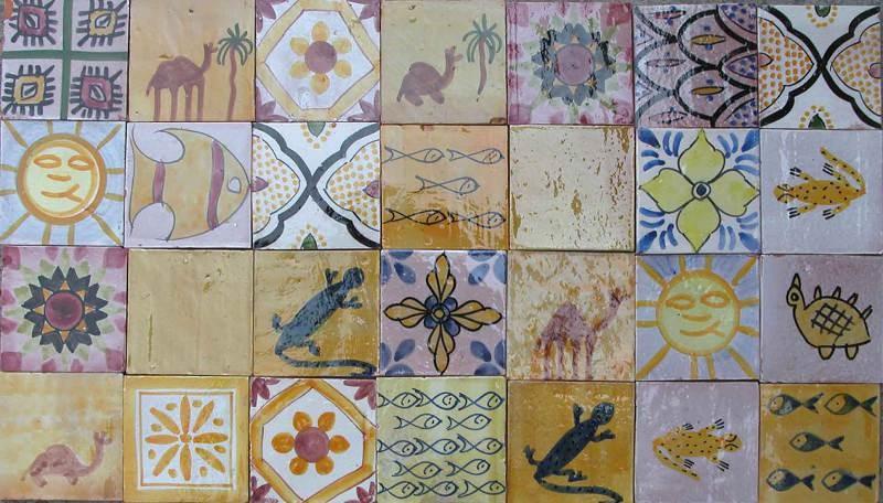 Piastrelle marocchine wikipedia: motivi geometrici islamici
