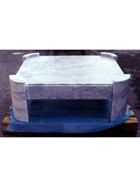 Tavolo in marmo di nostra produzione