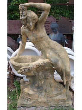 Cement statue
