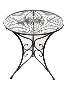 Round Ø65cms iron table