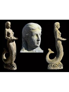 Statua da giardino - la Sirena
