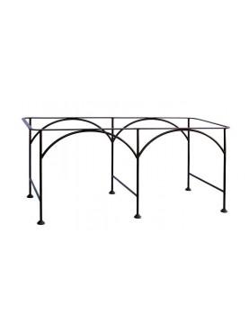 Base per tavolino in ferro
