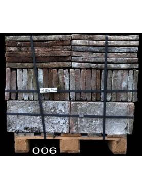 Terracotta tiles 23x45 cm. - pallet N.6