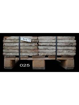 Terracotta tiles 23x45 cm. - pallet N.25