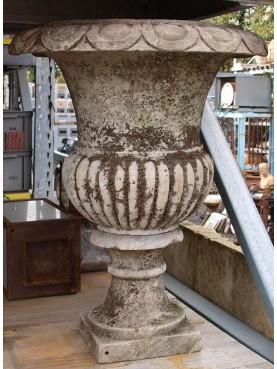 Vase in stone