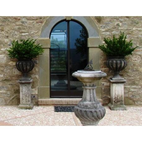 Ornamental vases stone