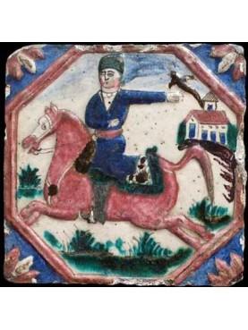 Safavid tile