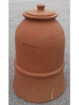 Campana da orto in terracotta h60x40 cm