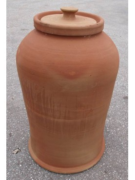 Campana da orto in terracotta h50x33 cm