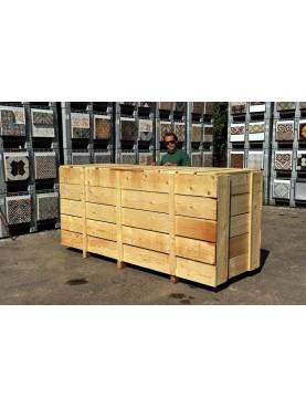 CASSA verticale lastre 250x100xh150 cm