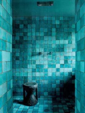 Piastrelle Berbere nel bagno
