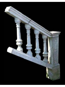 Balaustra in marmo