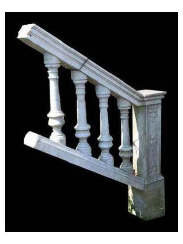 Original Marble Balustrade