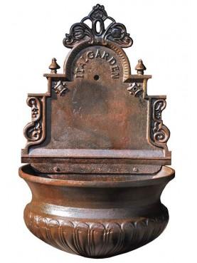 Copia della fontana romana Italgarden - fontanella ghisa a parete