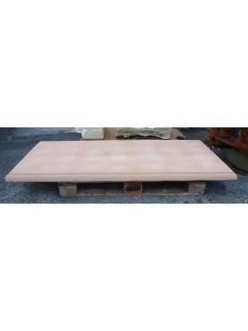 Tavolo rettangolare 200 CM in terracotta