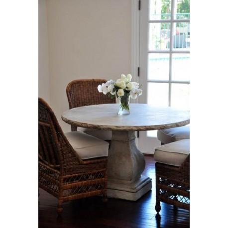 Stone roud table Ø100cm
