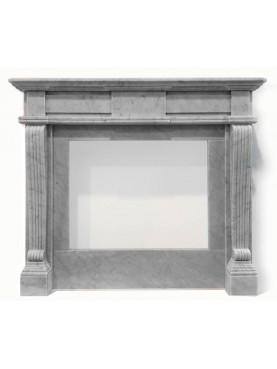 Camino di ns produzione in marmo bianco di Carrara