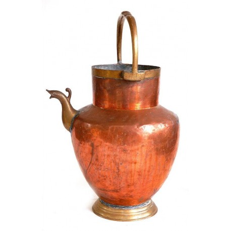 "Jug copper kitchen ""Mezzina water"""