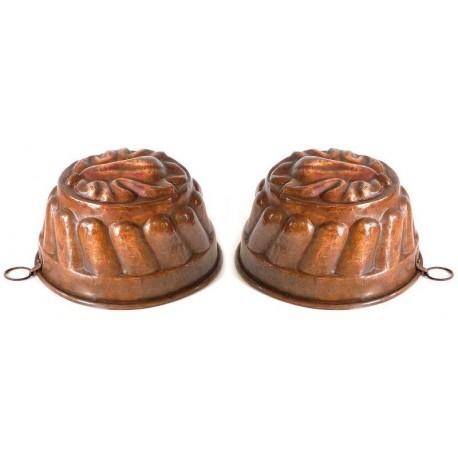 Forma in rame per cucina originale antica.