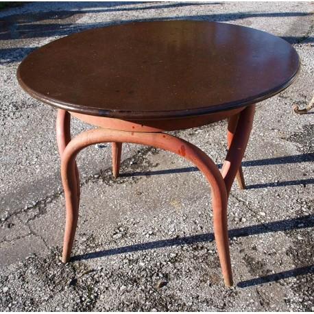 Iron table Ø70cms