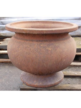 Cachepot in terracotta