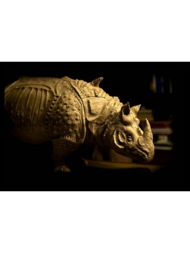 Il Rinoceronte in resina di Albrecht Durer