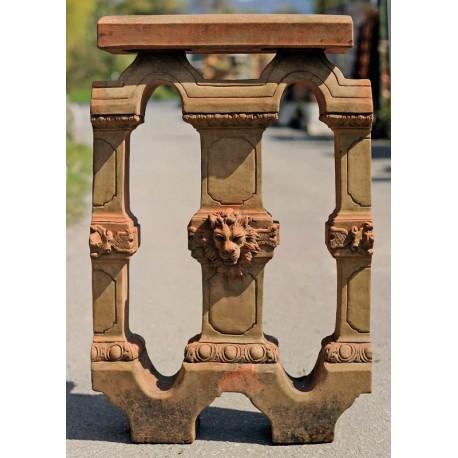 Terracotta balustrades