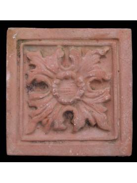 Terracotta Ceiling Plaque