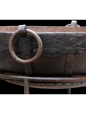 Enormi bracieri barbecue in ferro diam. 140 cm