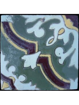 Piastrella di maiolica