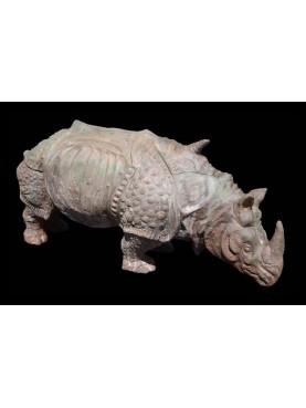 Il Rinoceronte in terracotta di Albrecht Durer