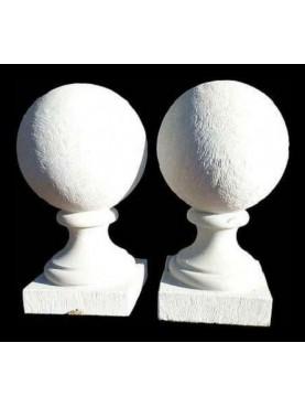 Two spheres Ø20cms