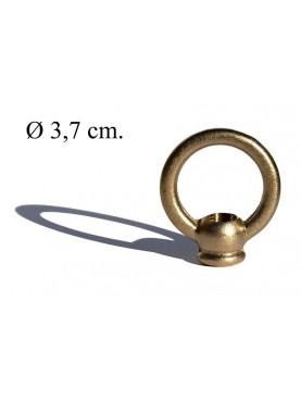 Maniglia in ottone diametro 3,7 cm