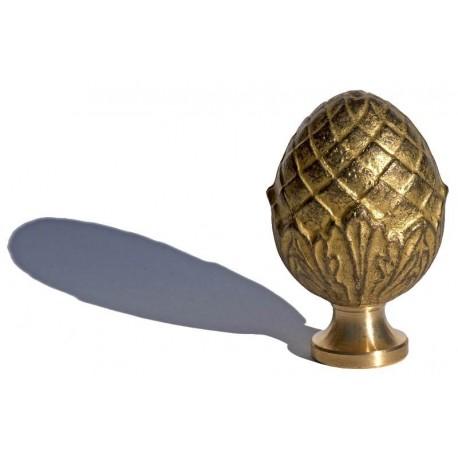 Brass base H.6,5cms