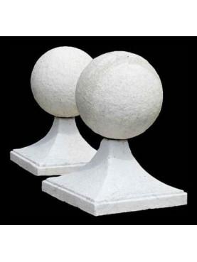 Due sfere in marmo Ø20cm