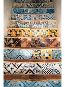 Majolica stairs