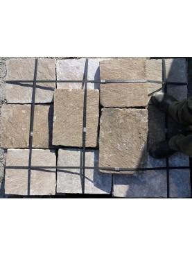 Porphyry stone floor tiles