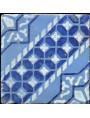 Original majolica tile from Sicily
