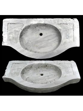 Antico originale lavandino in marmo