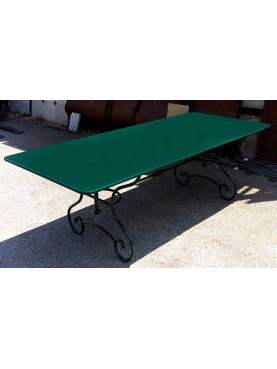Great forged iron table