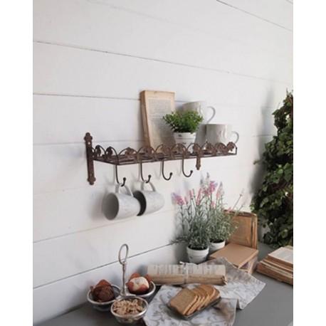 Small iron shelf 19cms
