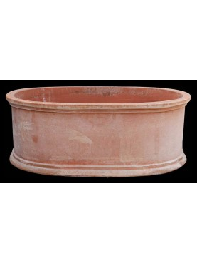 Oval flowers pot - medium size